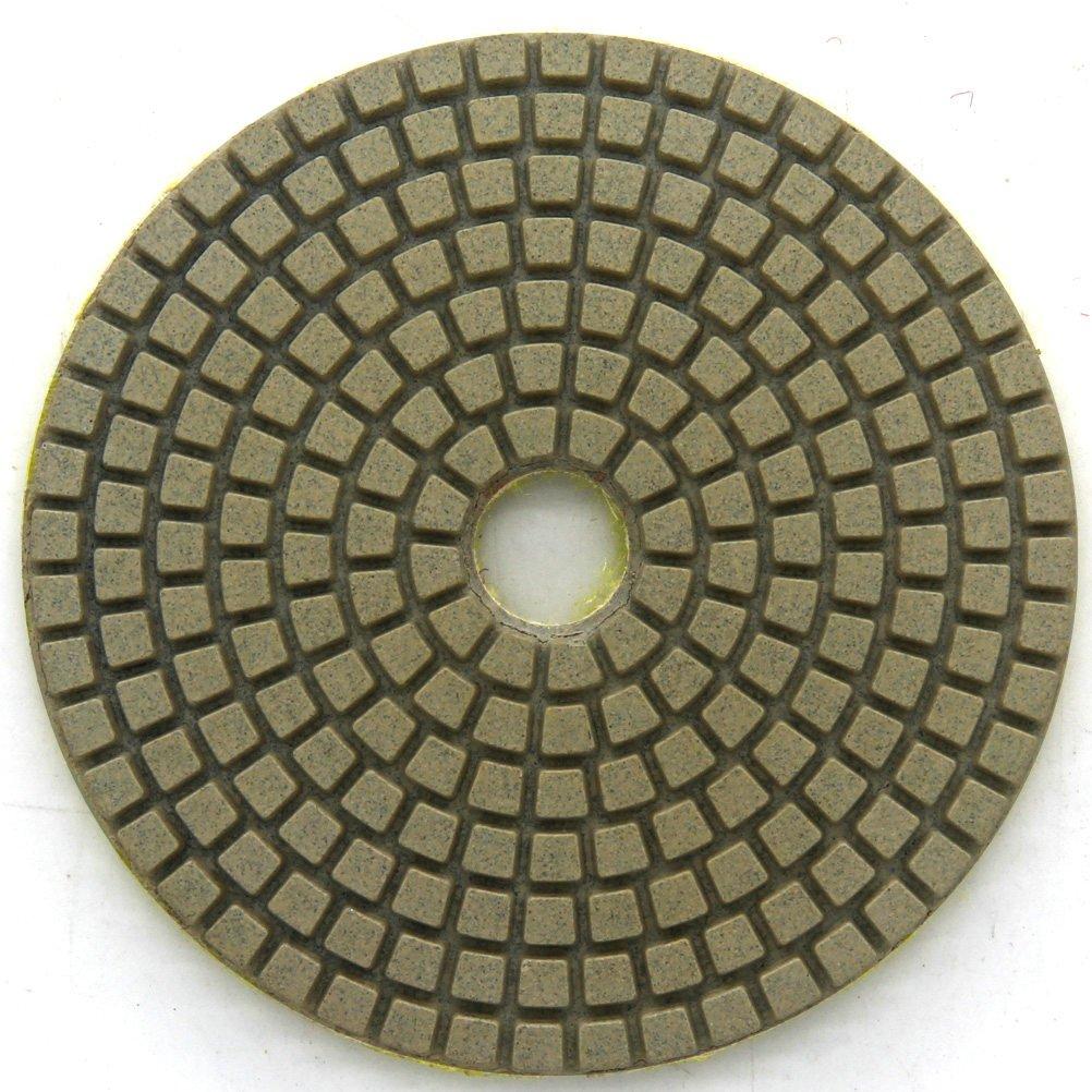 Diamond Wet 7-Step Polishing Sanding Grinding Pads 7 Pcs Set for Granite Marble Stone 5 Inch Grit 50-3000 by Easy Light (Image #3)