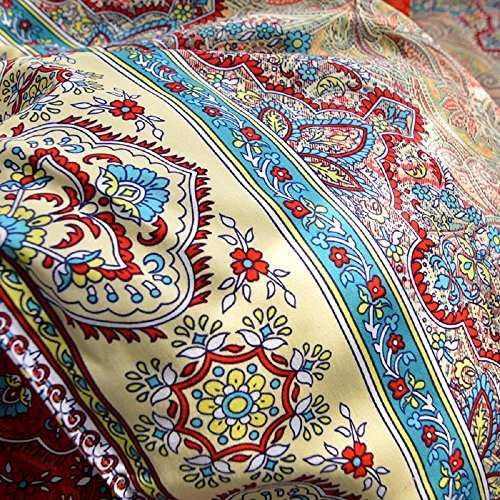 Best 4 Pieces Bohemian Exotic Style Bedding Duvet Cover