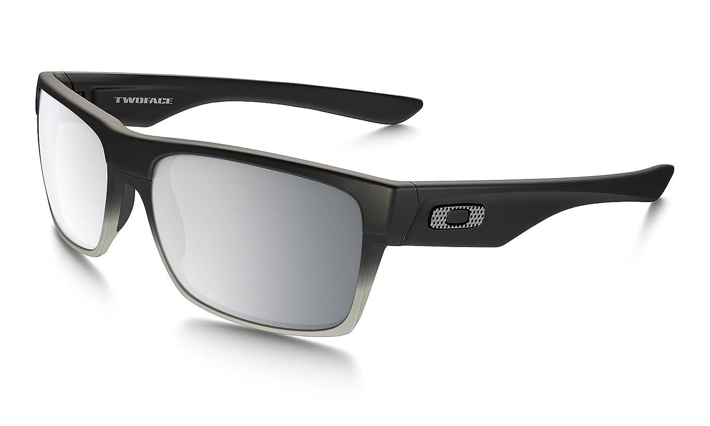267cd90964 Amazon.com  Oakley Two Face Sunglasses Machinist Matte Black  Oakley   Clothing