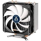 ARCTIC Freezer i32 - Disipador para CPU Intel I Ventilador 120 mm Función PWM PS I Semi pasivo I Heatpipes descentrados - 200 gr 13 x 15,7 x 9,9 cm