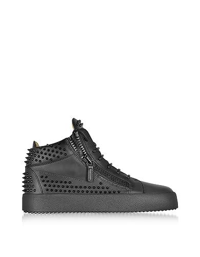 Sneakers mit Einsatz - Schwarz Giuseppe Zanotti TYajC