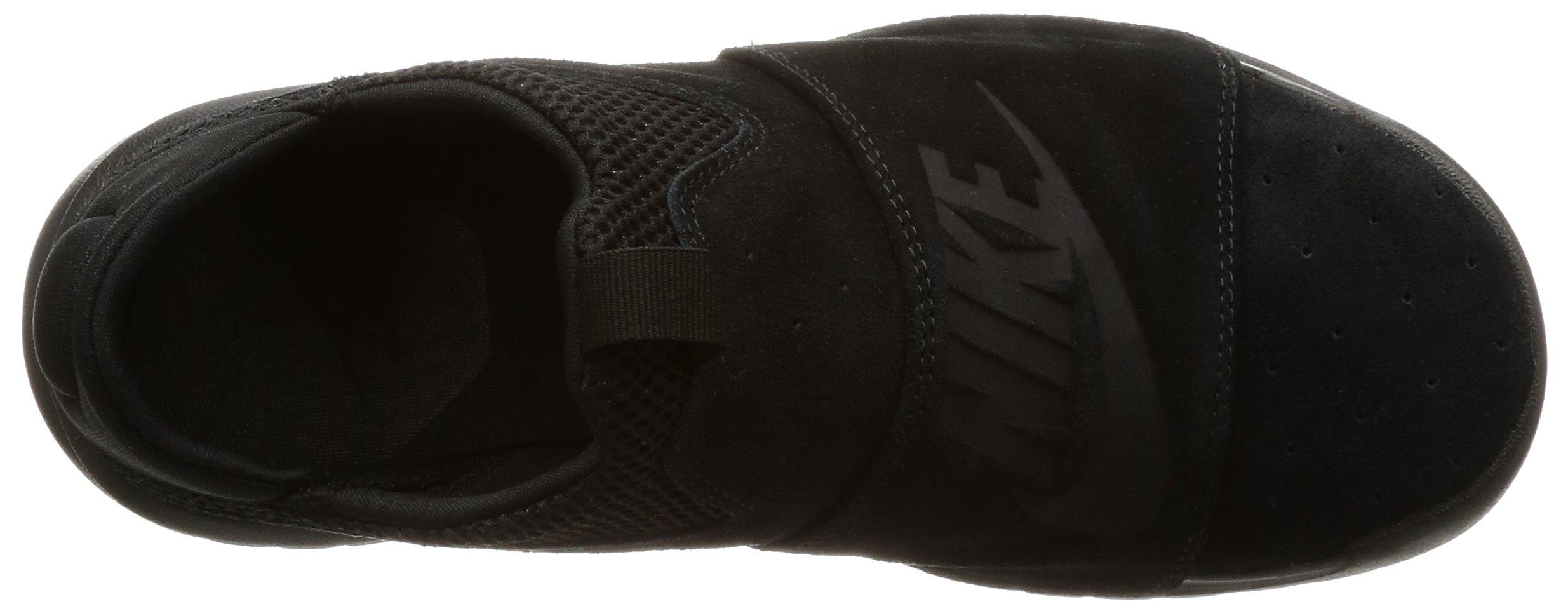Nike BENASSI SLP Mens fashion-sneakers 882410-003_9.5 - BLACK/BLACK-BLACK by NIKE (Image #7)