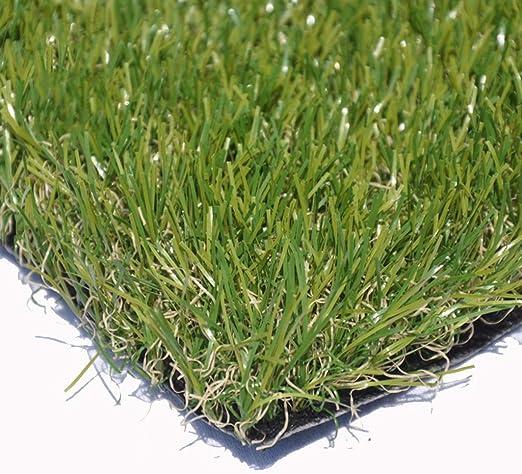 Césped Artificial de 20 mm de Altura de Pila |Césped Natural de jardín de Aspecto Realista Césped Falso de Alta Densidad: Amazon.es: Hogar