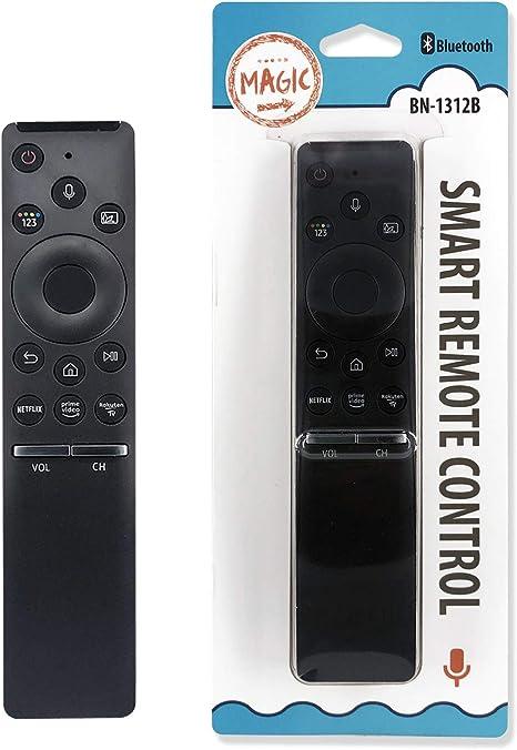 IHANDYTEC - BN-1312B - Mando a distancia de repuesto para televisión Samsung Smart TV con bluetooth, botones de aplicaciones y ratón Air Mouse, color negro: Amazon.es: Electrónica