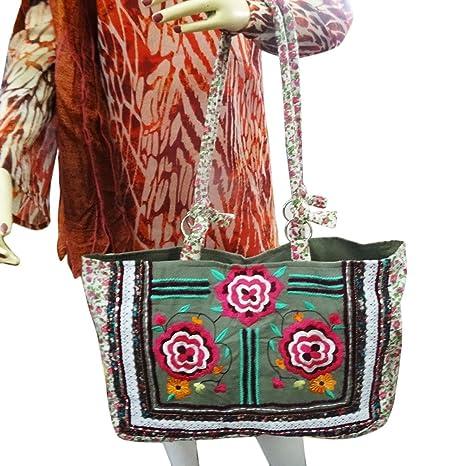 La bolsa de asas del monedero del hombro indio decorativa ...