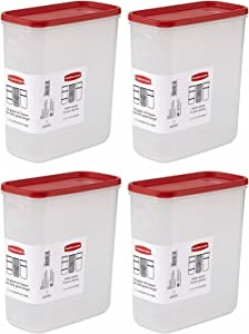 Rubbermaid 21-Cup Dry Food Container, Value Pack Of 4 Containers