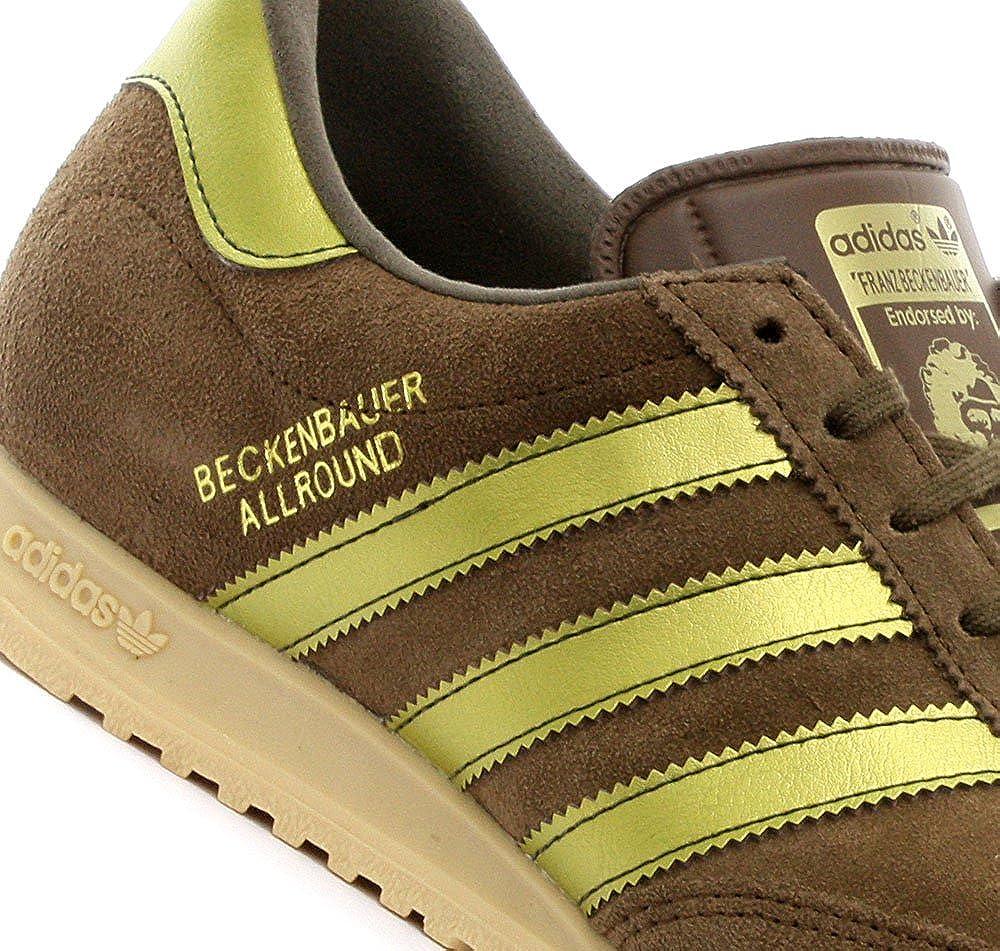 adidas Trainers Shoes Mens Beckenbauer Brown ... - Amazon.com