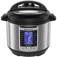 Instant Pot Ultra Electric Pressure Cooker, Stainless Steel