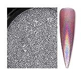 Riverlily 6 Colors Nail Glitter Super Bright Nail