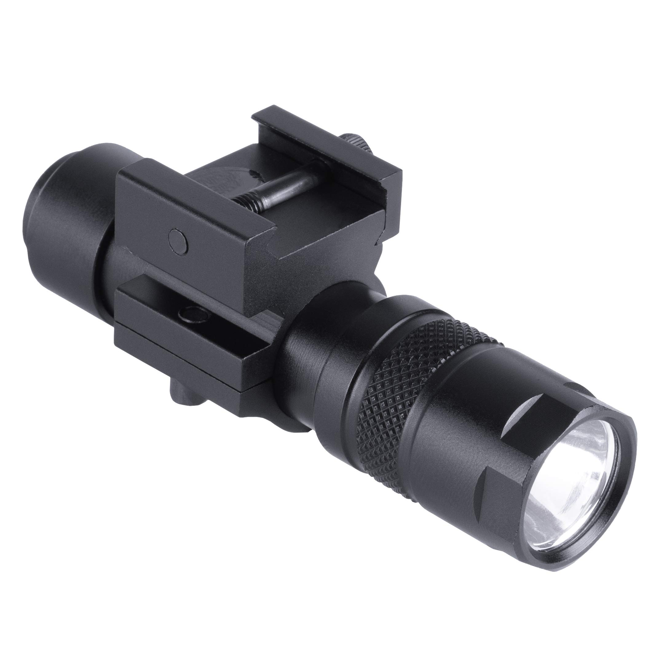Monstrum Tactical 90 Lumens LED Flashlight with Rail Mount and Detachable Remote Pressure Switch by Monstrum