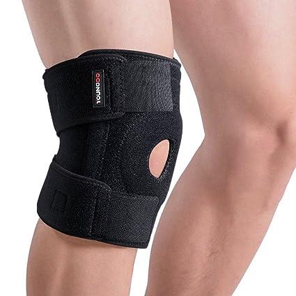 Youngdo Rodillera Deportiva Articulada Ajustable para Rótula y Menisco Protección de Rodilla para Correr, Crossfit