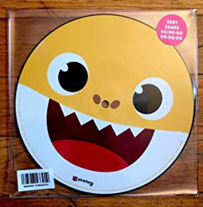 """Pinkfong - Baby Shark - RSD 2019 Picture 7"""" 45 rpm Vinyl - Limited to 1000"""