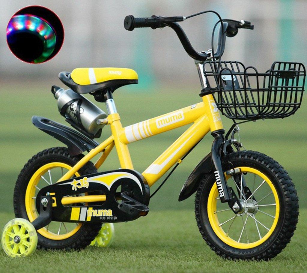 子供の自転車、男の子の自転車の女の子クリエイティブ自転車のマウンテンバイクは、ショックの安全自転車の足首の自転車の長さを減らす88-115CM (色 : イエロー いえろ゜, サイズ さいず : 88CM) B07D2FHXRP 88CM|イエロー いえろ゜ イエロー いえろ゜ 88CM