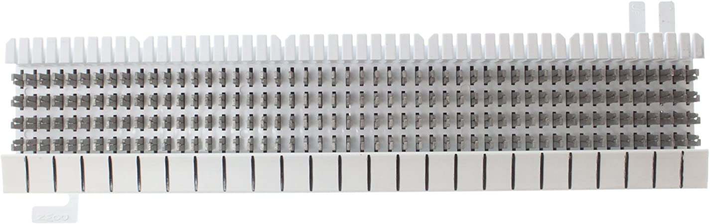 WALL-MOUNT SUTTLE SE-A66M1-25 M66 STYLE 25-PAIR 4X50 CONNECTING BLOCK WHITE
