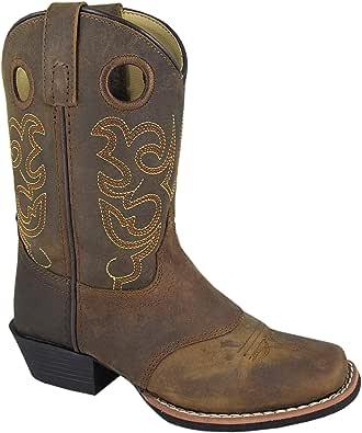Smoky Mountain Boys' Sedona Western Boot Square Toe