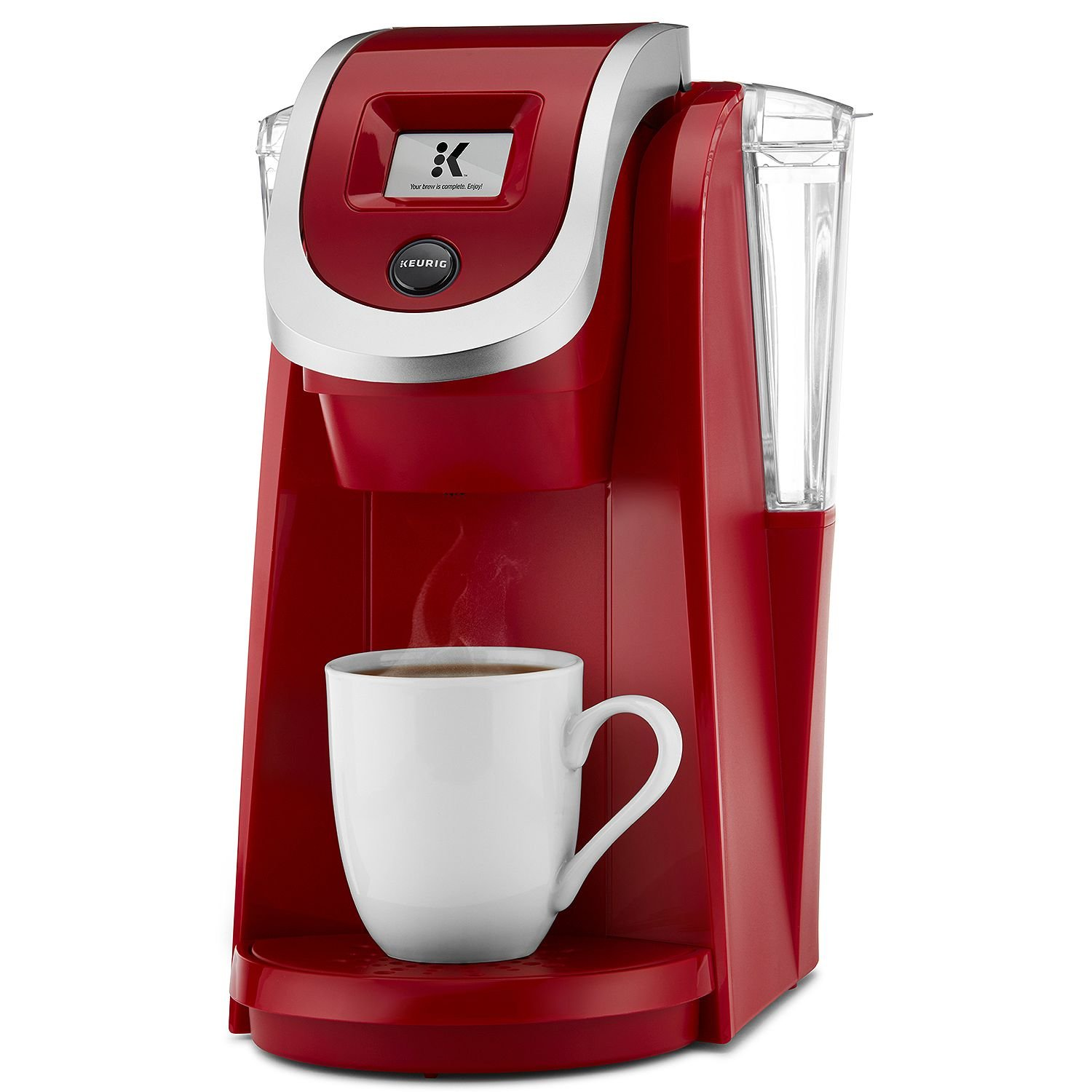 Keurig K200 Plus Series 2.0 Single Serve Plus Coffee Maker Brewer- Imperial Red (New Color)