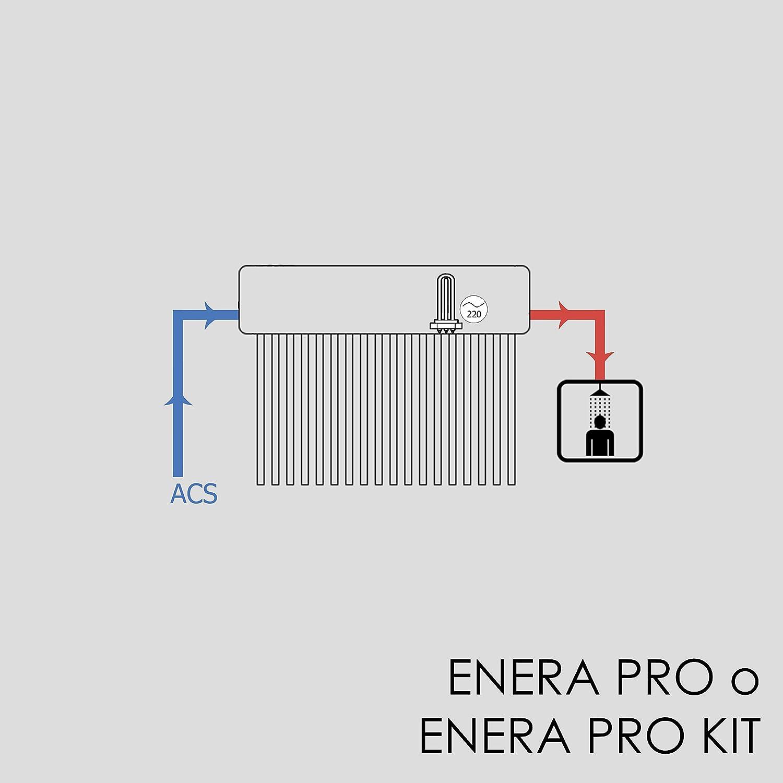 Calentador de agua solar para ACS (termosifón), HEAT PIPE, depósito de 200 L, tubos de 58mm x 1800mm: Amazon.es: Bricolaje y herramientas