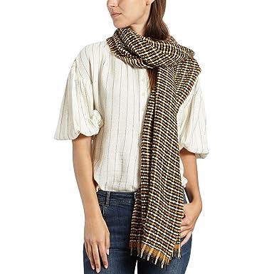 0175d7f06f5f Sessun - Echarpes Foulards Femmes - 61015012-00056 - U ORANGE MULTICOLOR   Amazon.fr  Vêtements et accessoires