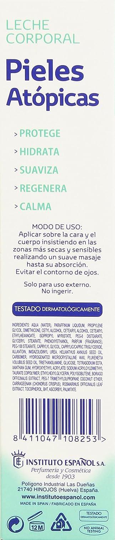 Instituto Español Pieles Atópicas Leche Corporal - 300 ml: Amazon.es: Amazon Pantry