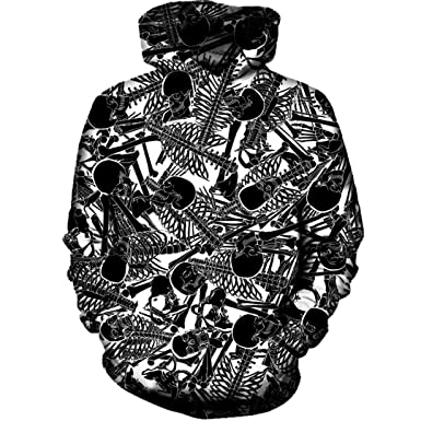 3D Print Pullover Autumn Tracksuit Unisex Hooded Tops Streetwear S