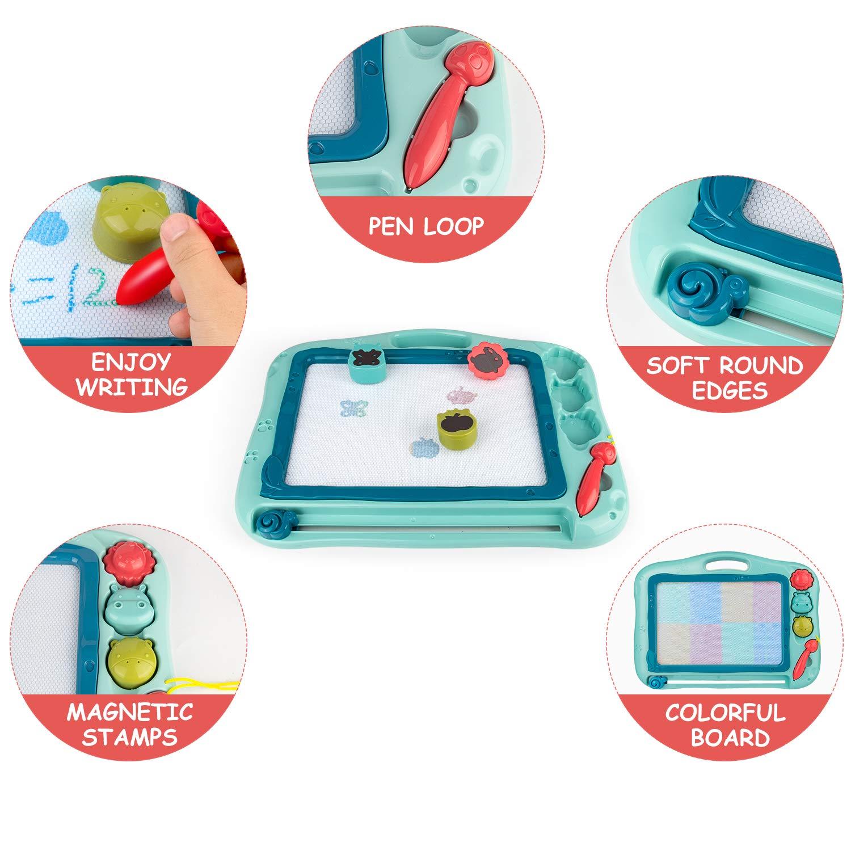 Gamenote Pizarra Magnética Infantil juego de 12 × 16 pulgadas ...