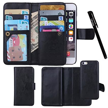 Cases, Covers, Keyboard Folios Case View Shell Flip Black Folio Leather Apple Iphone 6 Plus/ 6s Plus Stylus Computers/tablets & Networking