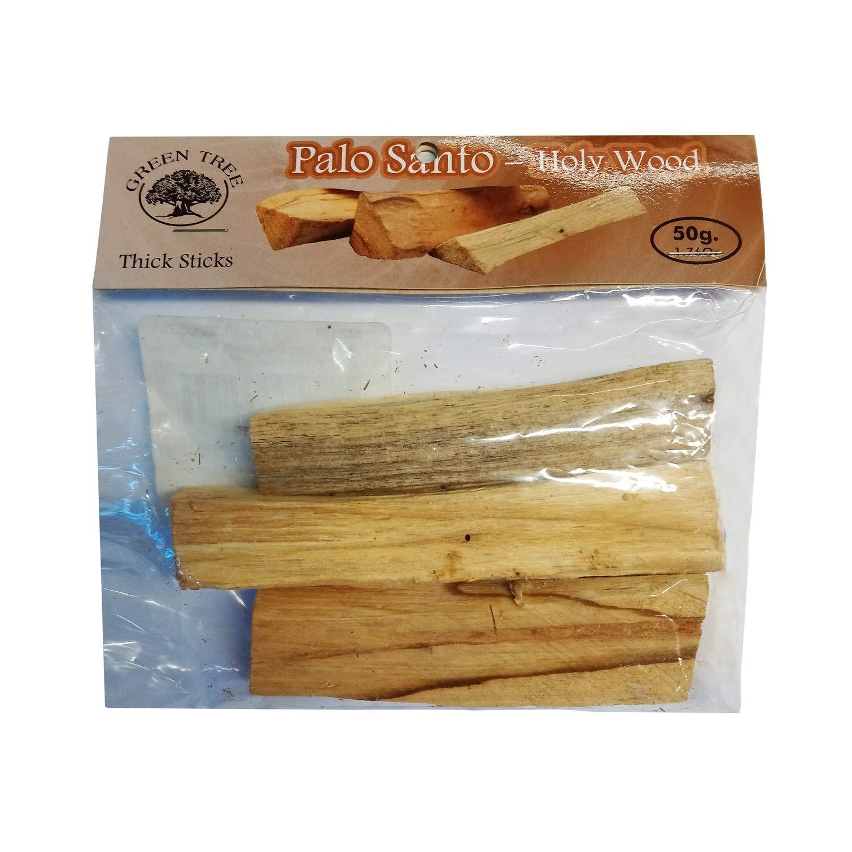 グリーンツリー50グラムのバッグPalo Santo Holy Wood Sticks   B01K6UX7WG