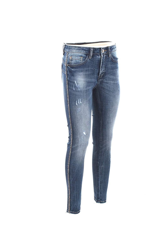 YES-ZEE Jeans Donna 29 Denim P377 P684 Primavera Estate 2019