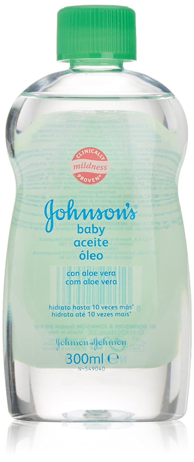Johnsons Baby Aloe Vera Oil 300ml JOHNSON' S B00HU4AGPI
