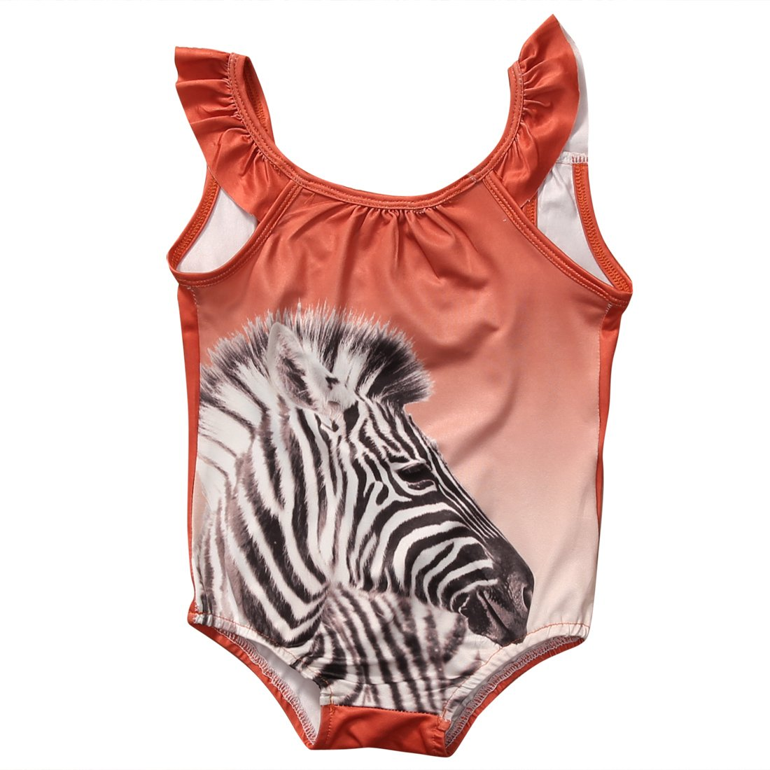 Infant Toddler Baby Summer One-Piece Swimsuit Dudette/Animal Cartoon Bathing Suit
