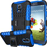 ykooe Samsung Galaxy S5 Case, (Armor Series) Galaxy S5 New Dual Layer Shockproof Case Silicone Phone Protective Cover with Ki