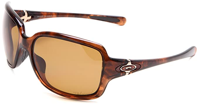 Oakley Gafas de sol Rectangulares Break Point para mujer, Brown - Tortoise