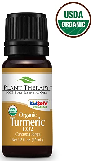 Plant Therapy Turmeric Organic CO2 Extract 10ml
