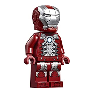 LEGO Avengers Endgame Iron Man Mark 5 Armor Minifigure 76125 Mini Fig