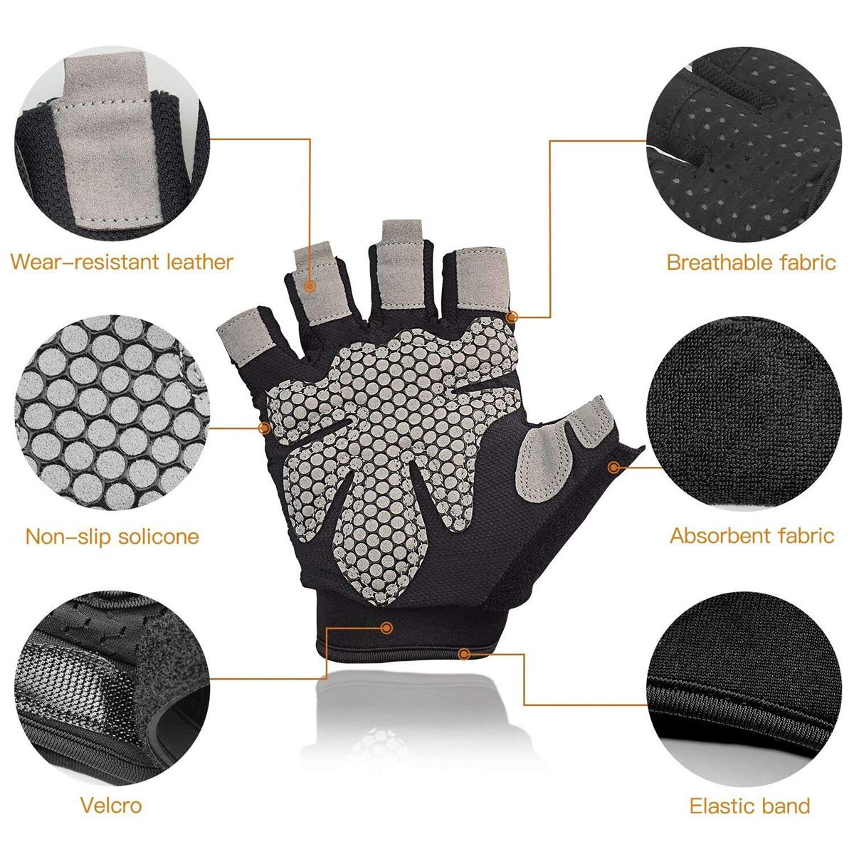 Cross Training Large A-code Breathable Ultralight Weight Lifting Sport Gloves Bodybuilding Fitness Gym Workout Exercise Gloves Support for Powerlifting Best for Men /& Women