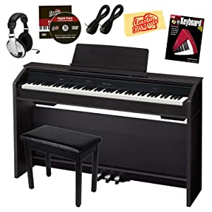 Casio Privia PX-850 Digital Piano Bundle with Bench