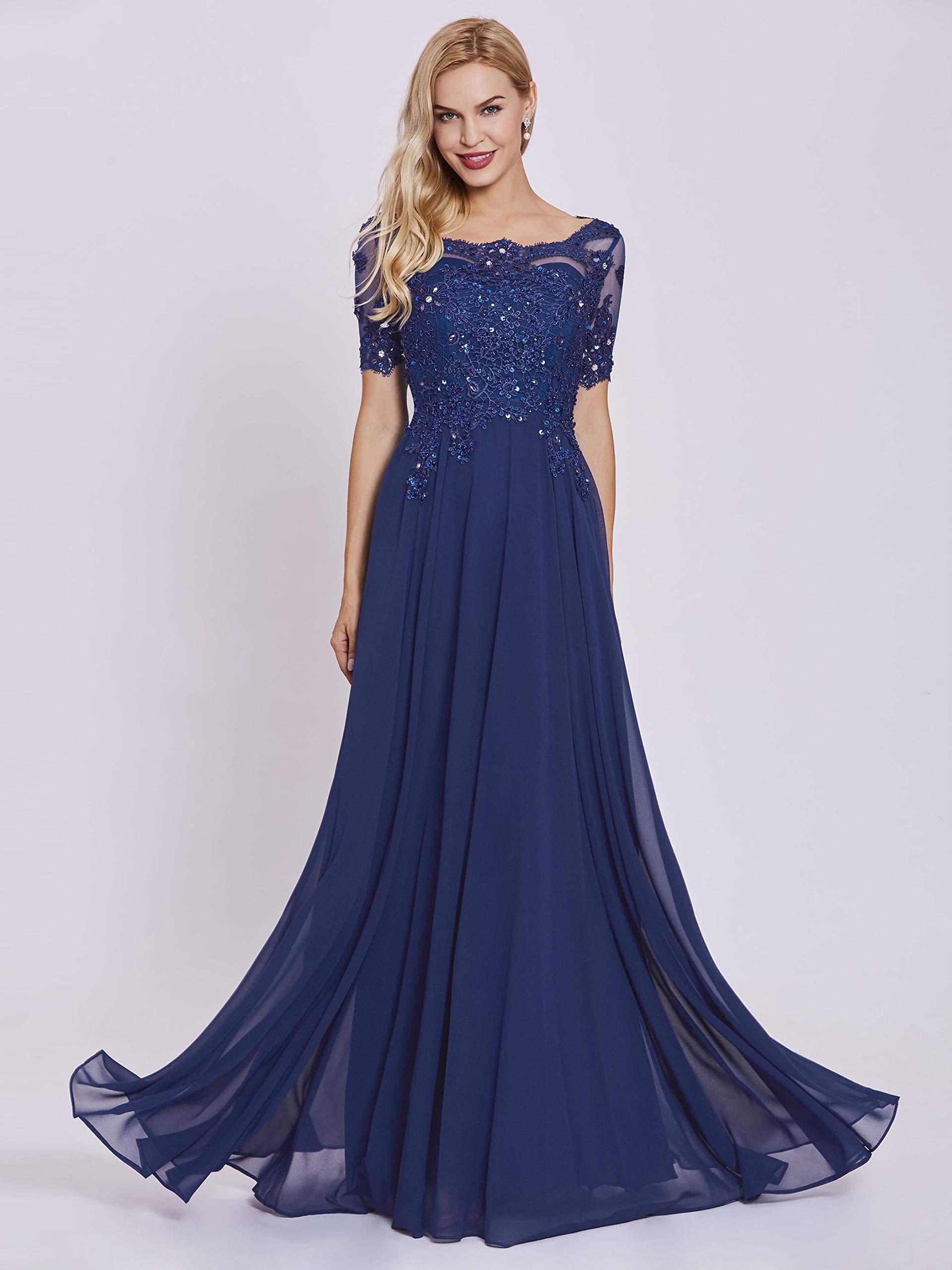2016 Elegant Long Sleeve Mother Of The Bride Dresses Plus