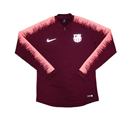 Amazon.com  Men s Official 2018-2019 FC Barcelona Anthem Jacket 894361-669  Maroon Medium  Clothing 00b31fe09