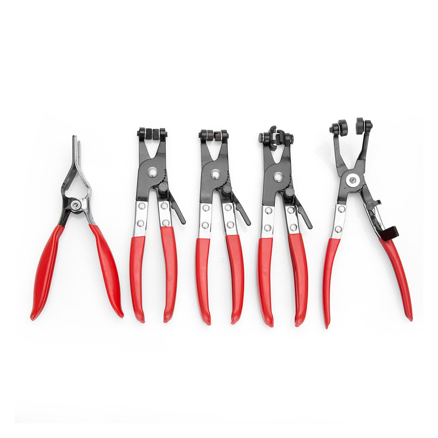 OEMTOOLS 27159 Hose Clamp Pliers Set, 5-Piece by OEMTOOLS
