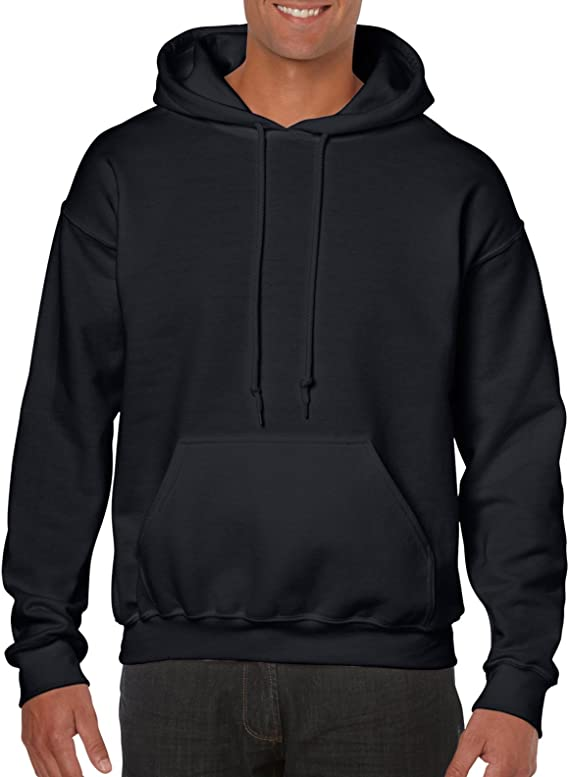 GILDAN Mens Men's Fleece Hooded Sweatshirt