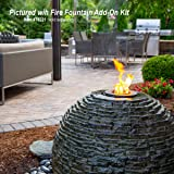 Aquascape Stacked Slate Sphere Water Fountain for
