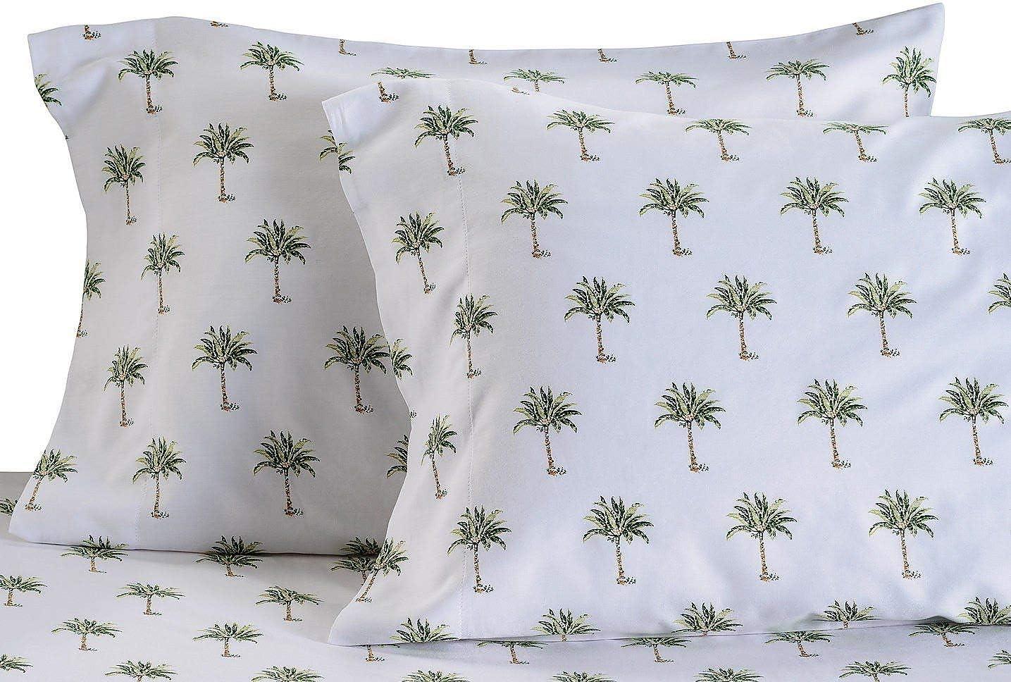 Panama Jack Palm Tree Sheet Set Bedding King Green
