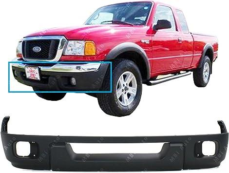 Valance For 2001-2003 Ford Ranger Edge with Fog Light Holes Front Lower