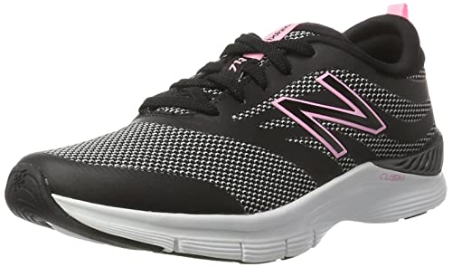 Nero 44 EU New Balance 713 Graphic Trainer Scarpe Sportive Indoor Donna i31