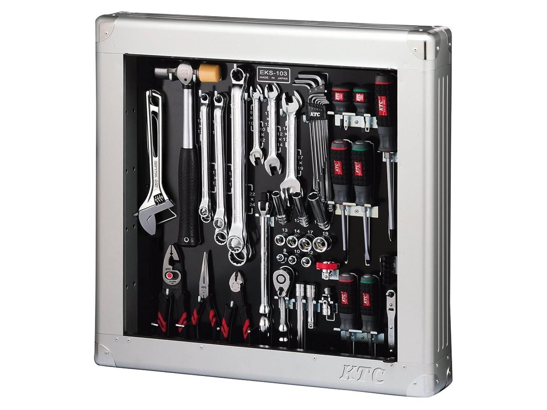 KTC SK35618SS 工具セット 薄型収納メタルケースタイプ 9.5sq. 入組点数:56点【SKSALE2018】  B077M7TJCF