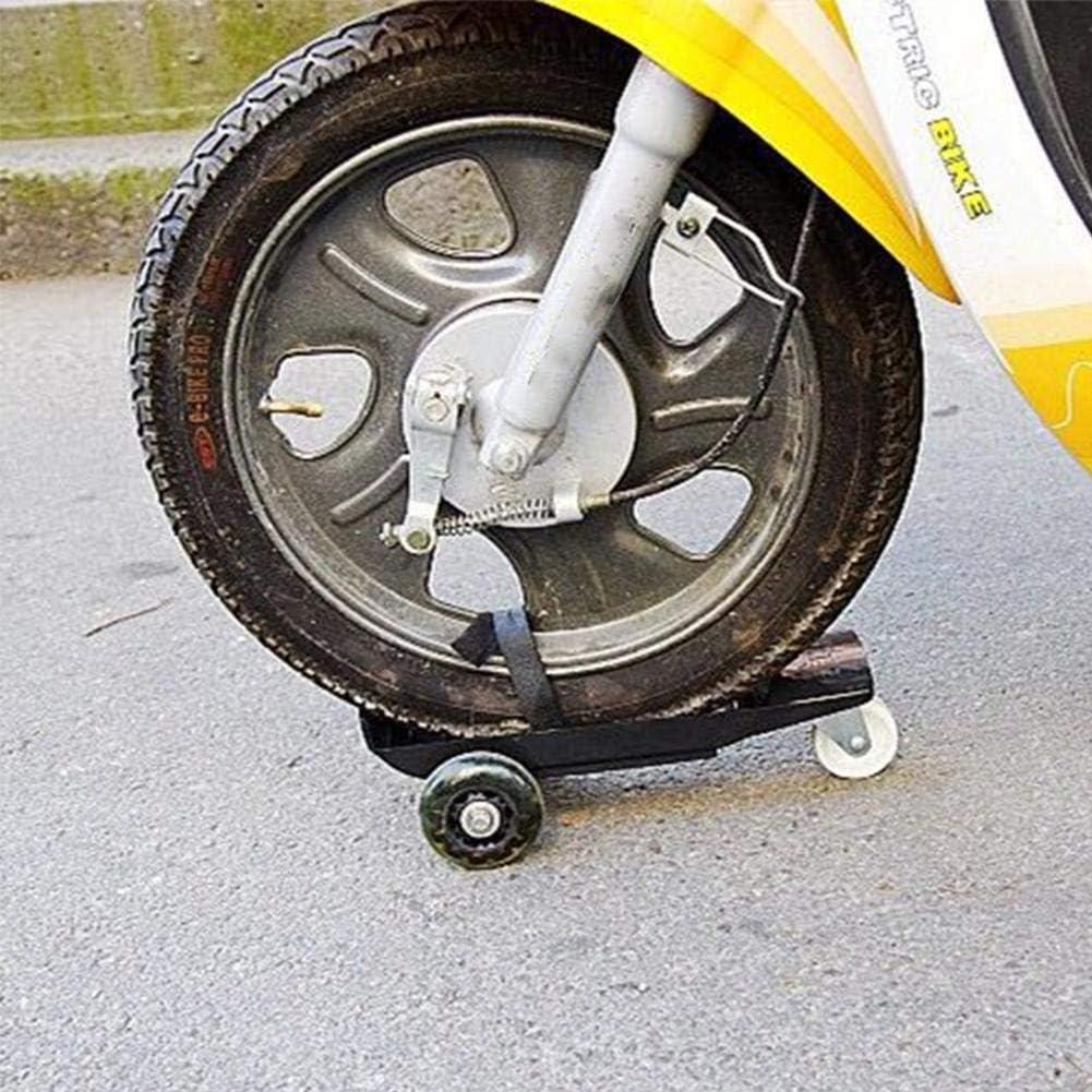Generp Remorque de Moto Chariot de Transport pour Assistance routi/ère durgence Support pour v/élo de salet/é avec Rampe de Chargement Robuste Chariot de Transport de Moto portatif Compact