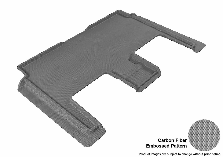 Kagu Rubber 3D MAXpider L1DG01631502 Third Row Custom Fit All-Weather Floor Mat for Select Dodge Grand Caravan Models Tan