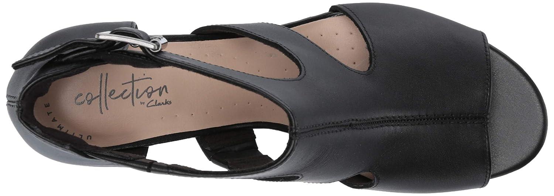 CLARKS Womens Deva Heidi Heeled Sandal