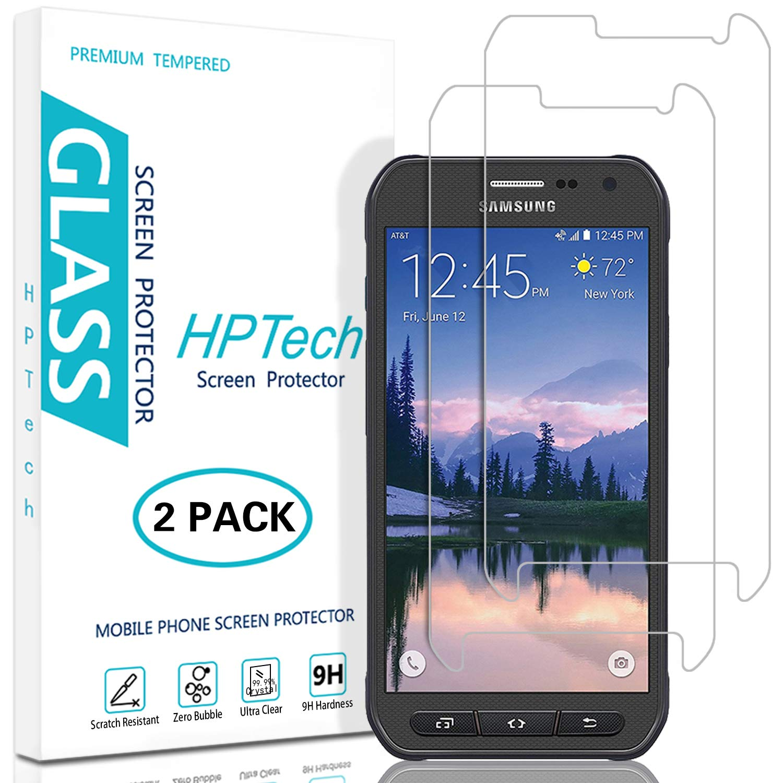 Vidrio Templado Para Samsung S6 Active [2un] Hptech (74sw79c