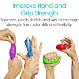 Vive Exercise Putty - Therapeutic, Occupational and Therapy Tool - Thinking and Stress - Finger, Hand Grip Strength Exercises - Extra Soft, Soft, Medium, Firm Sensory